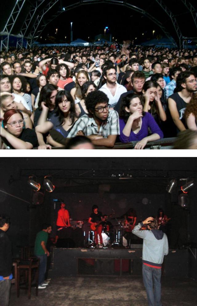 Público em Brasília(DF) e em Campinas(SP)